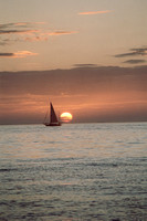 0023_Sail Boat in Florida Sunset