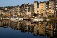 1633 Honfleur Harbor, Normandy, France