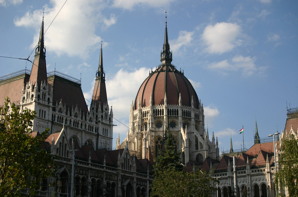 1964_Parliment Bldg. in Budapest