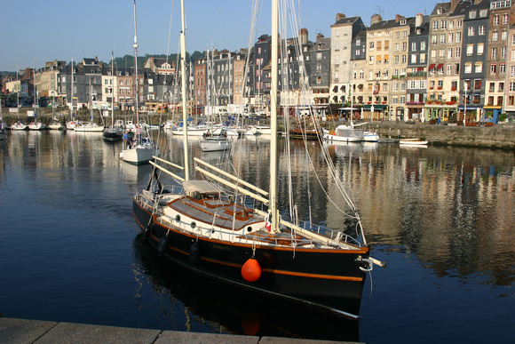 1649 Honfleur Harbor, Normandy, France