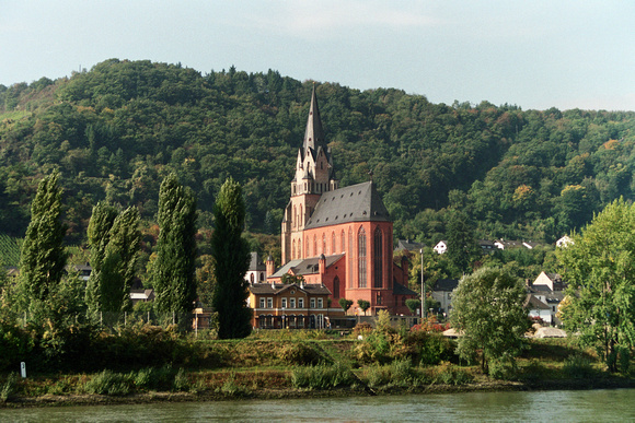 0094 A View from the Rhine River, Germany