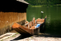 8690_Small Boat in Hallstatt,Austria
